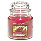 Yankee Candle Medium Jar Candle, Pink Dragon Fruit