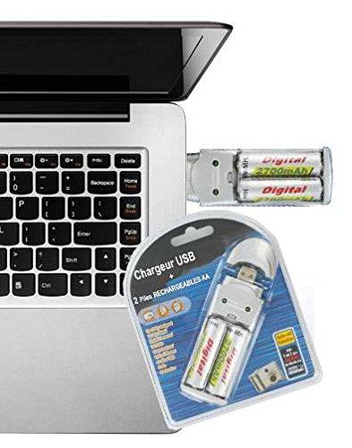Chargeur de Piles Chargeur Avec Piles E-force® pour TOUTES MARQUES Piles toutes applications