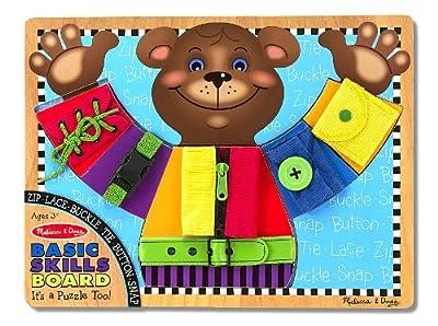 Melissa & Doug Basic Skills Board by Melissa & Doug