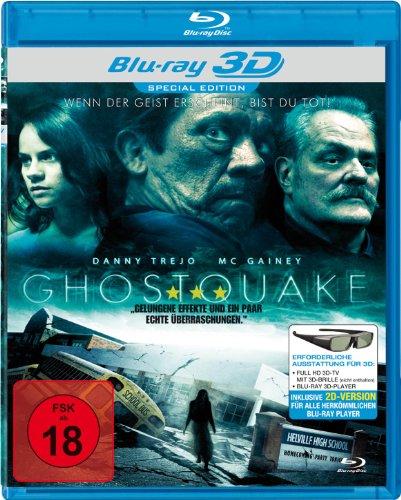 Ghostquake - Das Grauen aus der Tiefe (Real 3D) [Blu-ray]