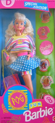 Barbie Fun POG Special Edition Doll (1994) by Mattel - 1