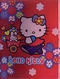 Hello Kitty Red Vinyl Looseleaf Binder