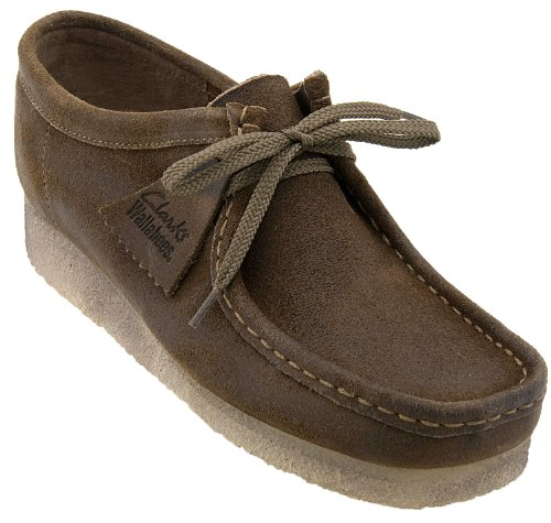 Clarks Men's Wallabee Oxford,Taupe Leather,10.5 M US