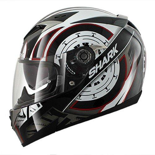 HE0963EKWRS - Shark S900-C Code Motorcycle Helmet S White (KWR)