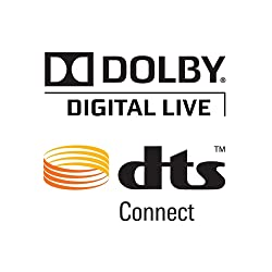 Dolby Digital Live and DTS Connect Pack
