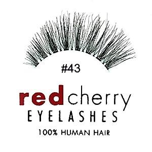 Red Cherry False Eyelashes #43 (Pack of 3)