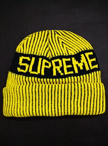 [Supreme Best Quality Biggest Fan Redux Knit Beanies With Pom] (Wigs Hobart)