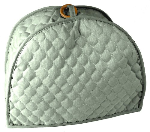Quilted Sage 4 Slice Toaster Appliance Cover