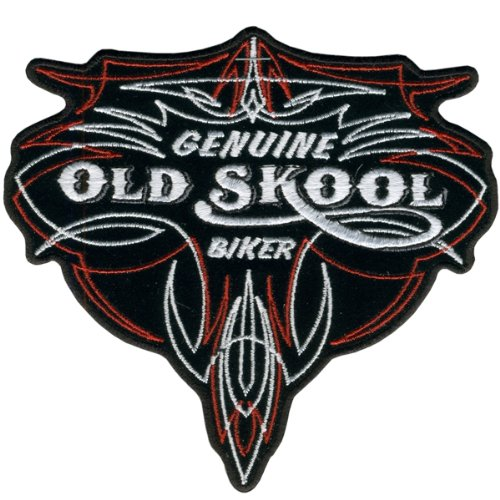 Hot Leathers Genuine Old Skool Biker Pinstripe Patch (5