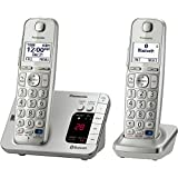 Panasonic KX-TGE262S Link2Cell Bluetooth Enabled Phone with Answering Machine & 2 Cordless Handsets