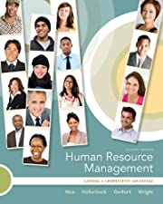 Human Resource Management with Connect by Raymond Noe