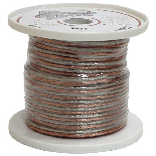 Pyramid Rsw16100 16 Gauge 100 Feet Spool Of High Quality Speaker Zip Wire