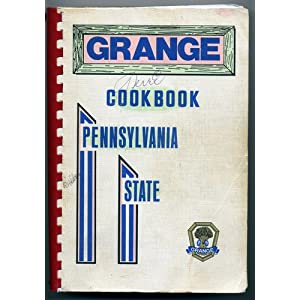 1972 Pennsylvania State Grange Cookbook