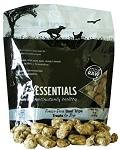 Vital Essentials Freeze-Dried Beef Tripe Dog Treats 5 oz.