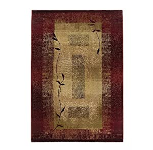 Contemporary Area Rug, Sphinx by Oriental Weavers, Generations 544X, 2'x3'