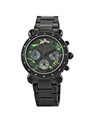 """JBW-Just Bling Women's JB-6233-B """"Victory"""" Camouflage Chronograph Metal Watch"""