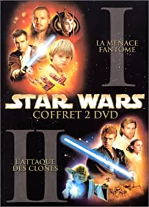 Star Wars : Episode 1, la menace fantôme / Star Wars : Episode II, l'attaque des clones - Coffret 2 DVD