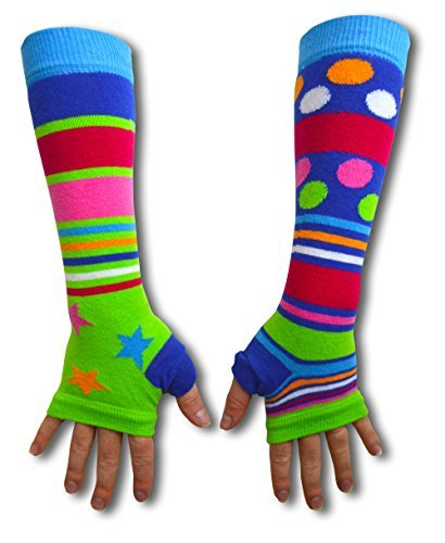 armwarmers-united-oddsocks-the-green-and-starry-ones
