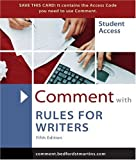 Comment for Rules for Writers (031243538X) by Hacker, Diana
