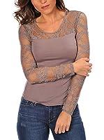 Anouska Camiseta Manga Larga Denise (Taupe)