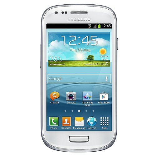 Link to Samsung I8190 Galaxy S III Mini Unlocked with 5MP Camera, 4.0-Inch Touchscreen, Android 4.1, Bluetooth and GPS – No Warranty – Ceramic White Big SALE