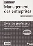 echange, troc Marie-José Chacon, Isabelle Masseran, Anne-Gaëlle Saïah - Management des entreprises BTS 1e année : Livre du professeur