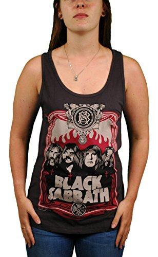 Black Sabbath - Canotta - Senza maniche  -  donna grigio grigio