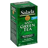Salada Green Tea, 20 Count Box (Pack of 6)