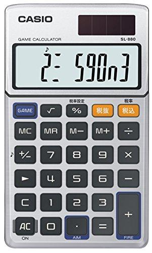 カシオから「ゲーム電卓 SL-880」が復活