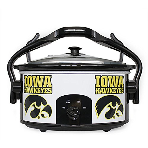Iowa Hawkeyes Crock Skins - Magnetic - DOES NOT INCLUDE CROCK POT / SLOW COOKER (Crock Skin compare prices)