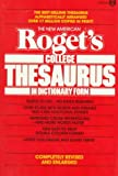 The New American Rogets College Thesaurus in Dictionary Form (Meridian)
