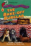 All-American Puppies #6: The Bake-off Burglar (0064473074) by Saunders, Susan