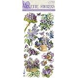 Violette Stickers Purple Flowers