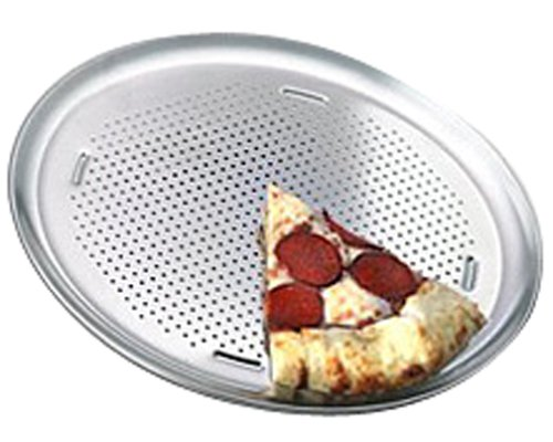 T-fal AirBake Ultra by T-fal T492ABA2 Insulated 15.75-Inch Perforated Pizza Pan Dishwasher Safe Bakeware, Silver