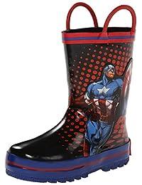 Disney Capt America Rain Boot (Toddler/Little Kid)