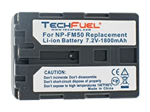 Sony DCR-TRV27E Camcorder Replacement Battery - Professional Quality TechFuel Li-ion Battery