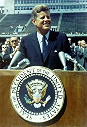 NASA President John Kennedy JFK Poster Photo USA Historical Posters Photos 12x18