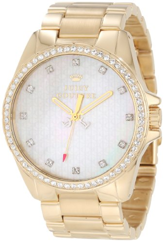 Juicy Couture Women's 1901009 Stella Gold Plated Bracelet Watch