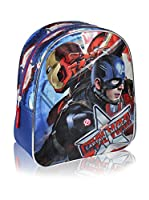 CAPITAN AMERICA Mochila Captain America (Azul Marino)