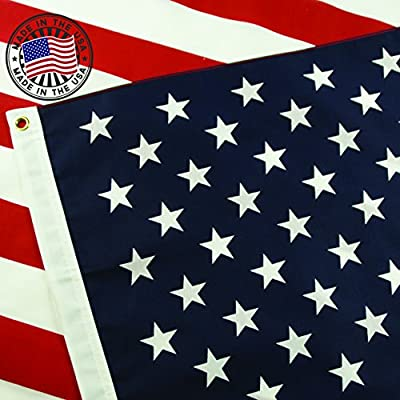 ccc702429e4 American Flag  100% Made in USA Certified by Grace Alley. 3x5 ft US Flag  Strong