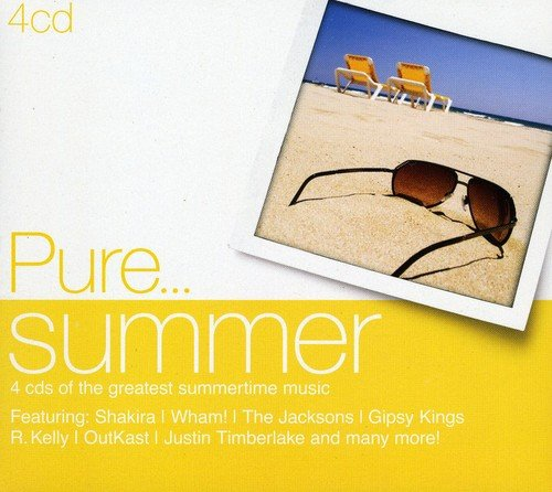 CD : Pure Summer / Various (United Kingdom - Import, 4 Disc)