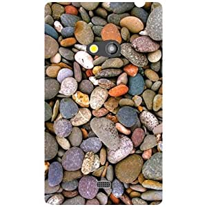 Nokia Lumia 625 Back cover - At The Beachside Designer cases