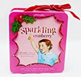 Philosophy Sparkling Cranberry Tin Gift Set include Shampoo, Shower Gel & Bubble Bath and Lip Gloss by Philosophy