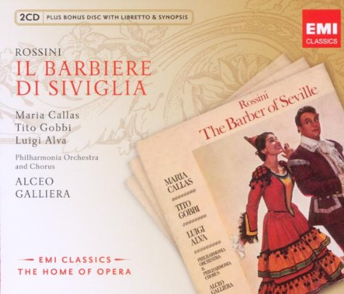 El Barbero De Sevilla (New Opera Series - Callas) - Rossini - CD
