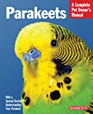 img - for Parakeets (Complete Pet Owner's Manual) book / textbook / text book