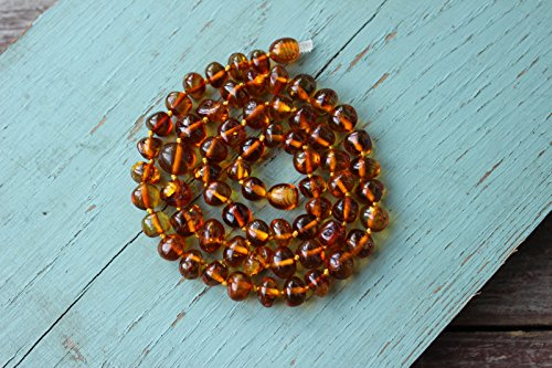 Authentic Baltic Amber Necklace 17,5'' - 1