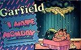 Garfield-I Hate Monday (Garfield landscape books) (0948456175) by Davis, Jim