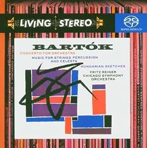 Bartok : Concerto pour orchestre - Musique pour cordes, percussion et célesta