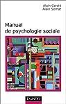 MANUEL DE PSYCHOLOGIE SOCIALE par Cerclé