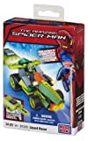Mega Bloks 91325 Spiderman Lizard Racer with Key Launcher 34pc Buildable Playset